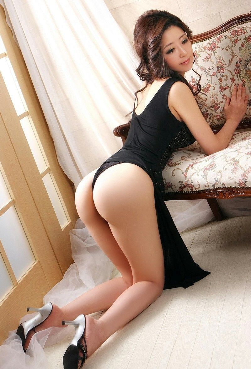 Asian girls with long thong