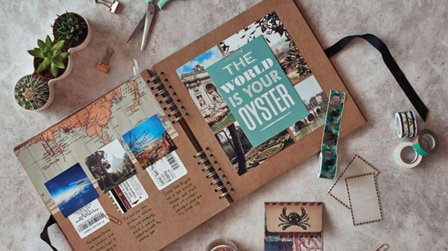 How To Scrapbook Like A Pro In 10 Easy Steps Scrapbooking Workshops Travel Scrapbook Scrapbook Journal