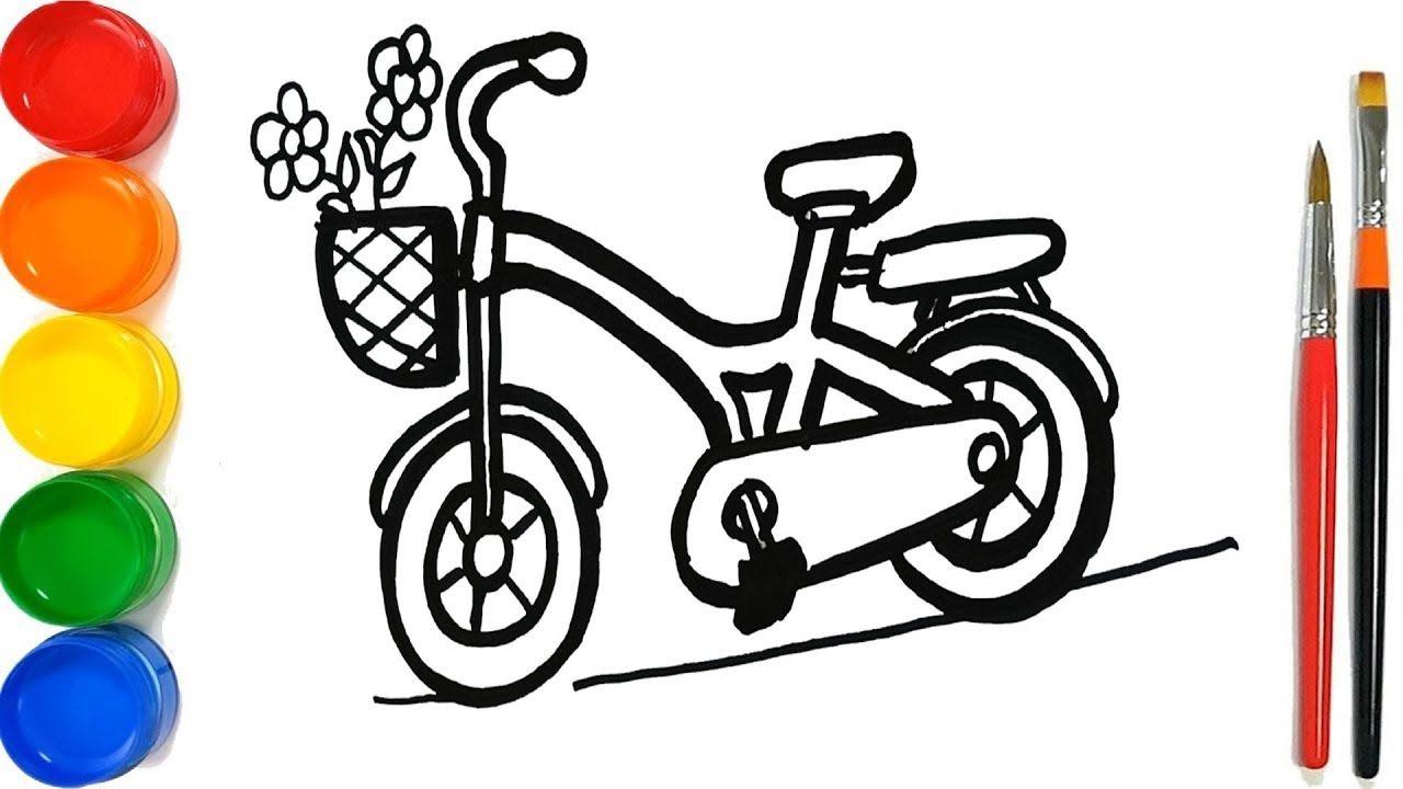 Xe đạp V Giá  Hoa Mu Vẽ V Vẽ Cho TrẠEm TrẠMá ›i Biết đi