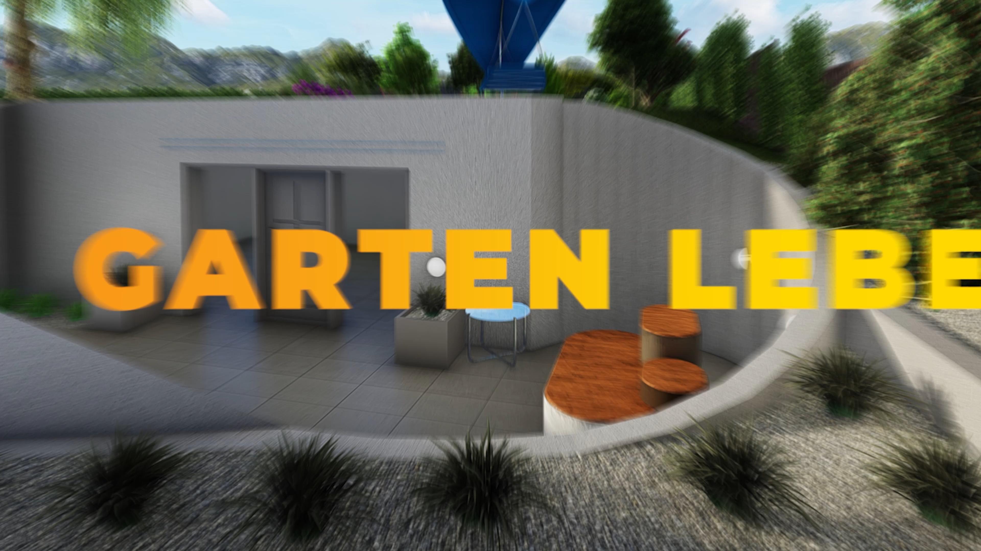 Modernes Gartenkonzept Video In 2020 Hinterhof Garten Ideen Garten Garten Hochbeet