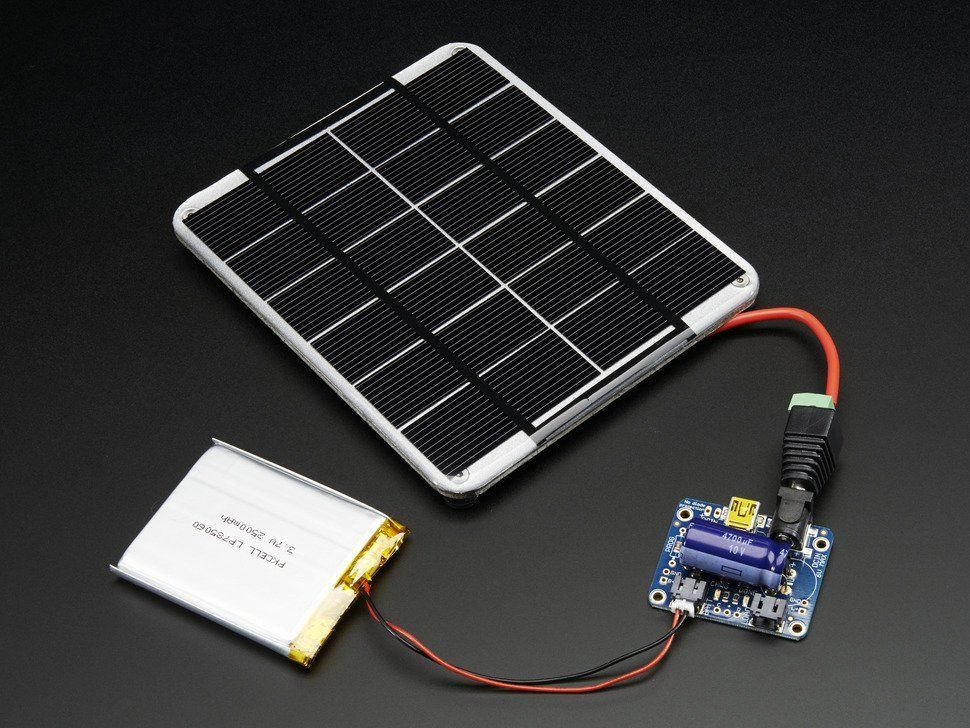 Usb Dc Solar Lithium Ion Polymer Charger V2 Solar Charger Solar Panels Best Solar Panels