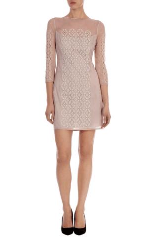 43586c724b0 Mesh with cutwork shift dress Karen millen | bridesmaids | Pinterest ...