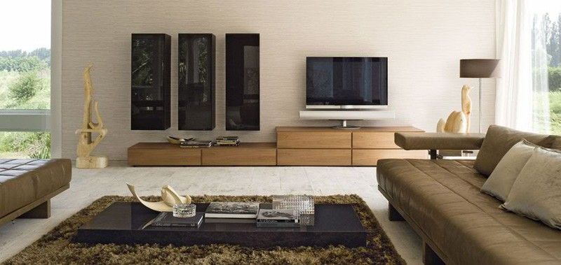 Cool Modern Living Room Design Ideas With Brown Vinyl Sofa Sets Also Rectang Contemporary Living Room Design Modern Living Room Black Living Room Design Modern