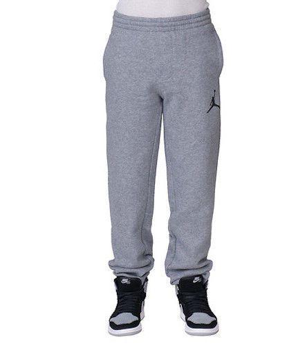 16d2bcbbd74c Nike Air Jordan Boys Fleece Pants Jogger Sweatpants size M Medium -  50   fashion