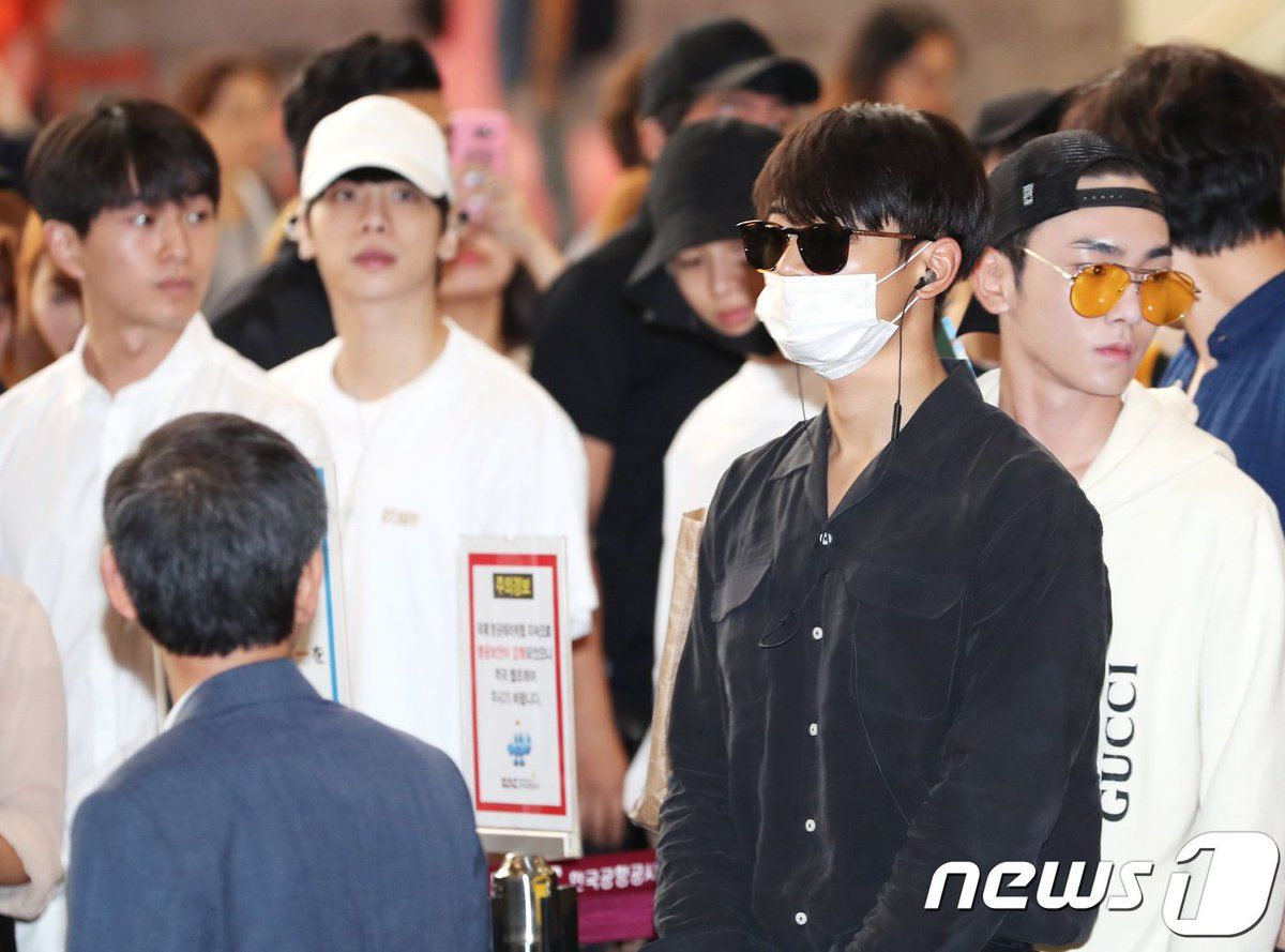 170726 #SHINee going to Japan #SMT