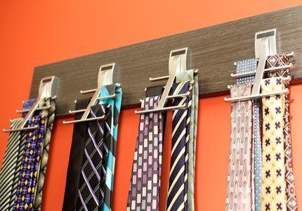 Omni Track Closet Tie Hooks