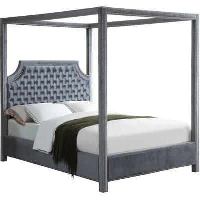 Rosdorf Park Emet Upholstered Canopy Bed Canopy Bedroom Sets Queen Canopy Bed Canopy Bedroom