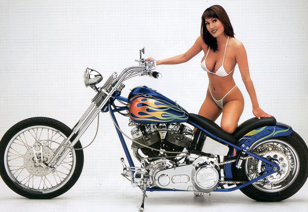Hot girls on choppers