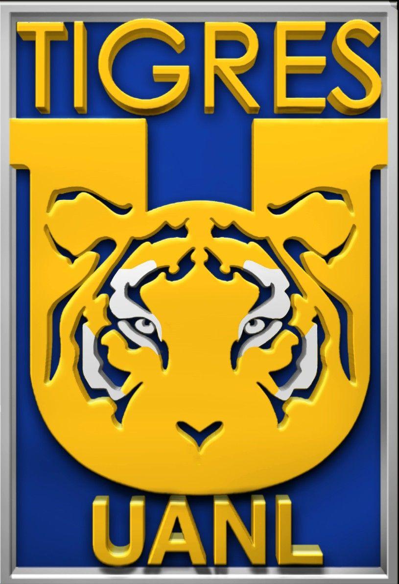 "Tigres UANL Escudo 2020 ""3D"" en 2020 Tigres uanl, Tigres"