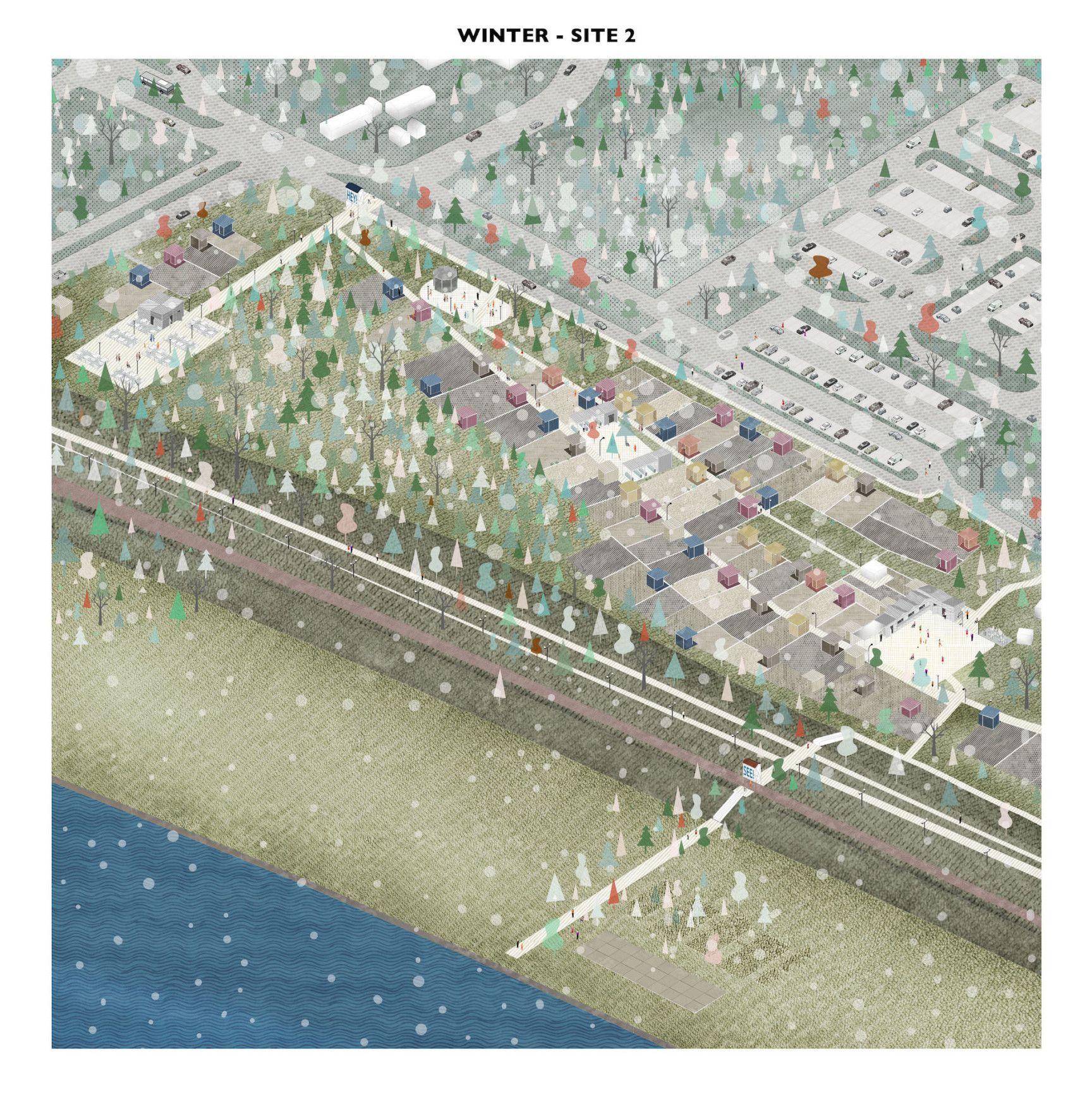 Drawing An Evocative Non Finito Landscape Diagram Diagram Architecture Architecture Graphics