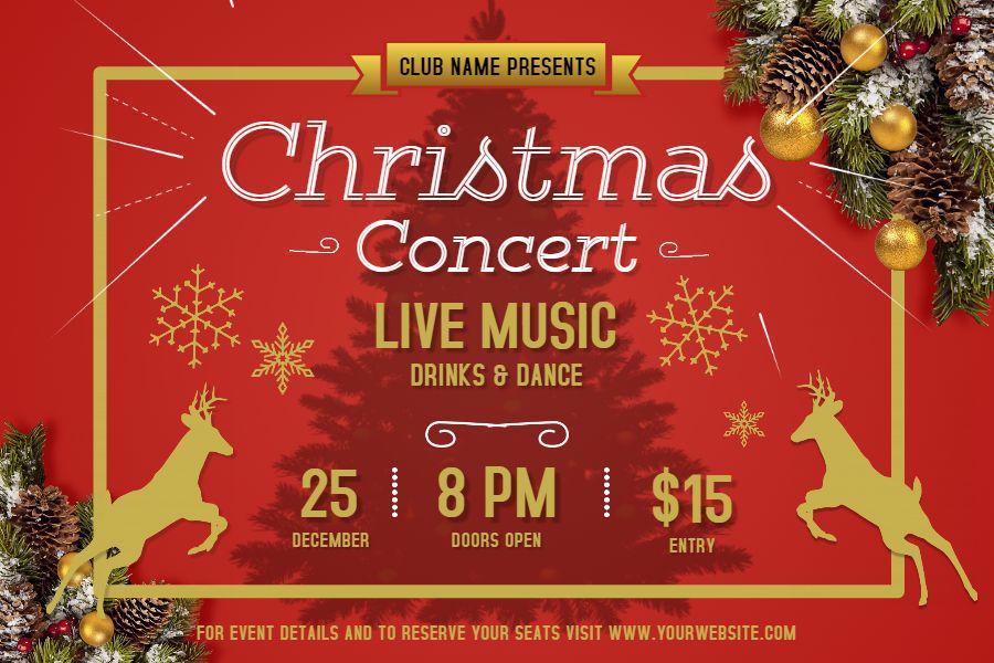 60 Christmas Poster Templates Ideas Christmas Poster Poster Template Christmas
