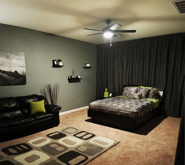 Small Bachelor Bedroom Ideas: Modern Bachelor's Bedroom After 2