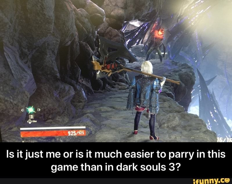 Is It Just Me Or Is It Much Easier To Parry In This Game Than In Dark Souls 3 Ifunny Dark Souls Dark Souls Funny Dark Souls Meme