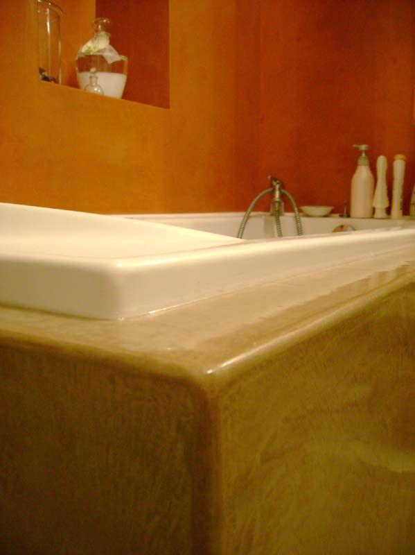 salle de bain en béton ciré, maison des ocres Les décos de MA - 7