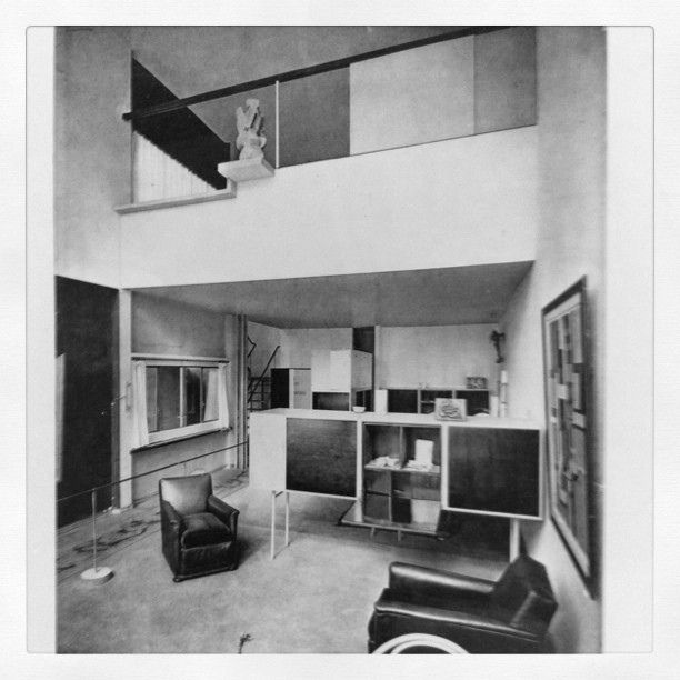 le corbusier pavillon de l 39 esprit nouveau 1925 cool deep research pinterest architecture. Black Bedroom Furniture Sets. Home Design Ideas