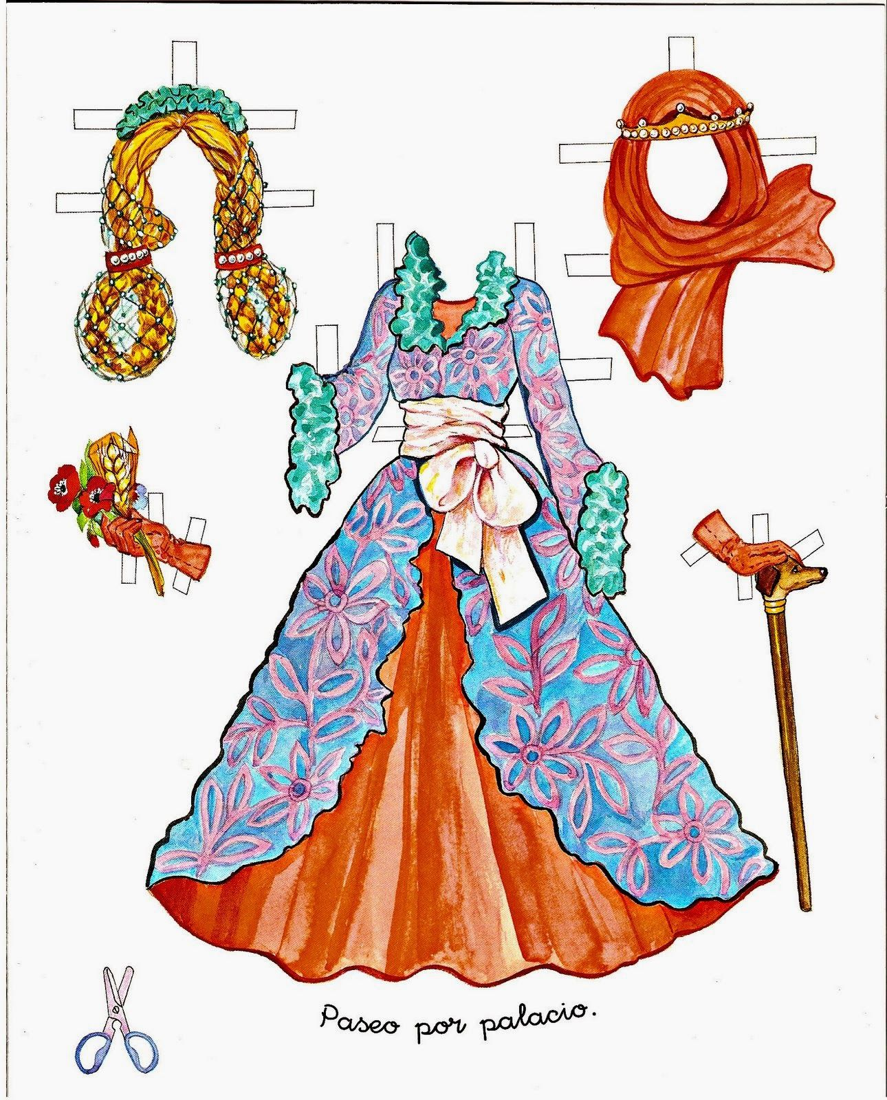 paper doll costume - HD 1290×1600