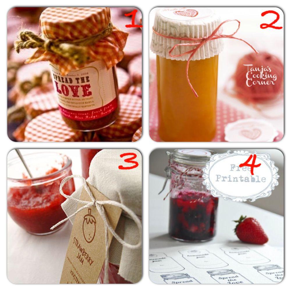 Idee per confezionare le marmellate fatte in casa | NATALE ...