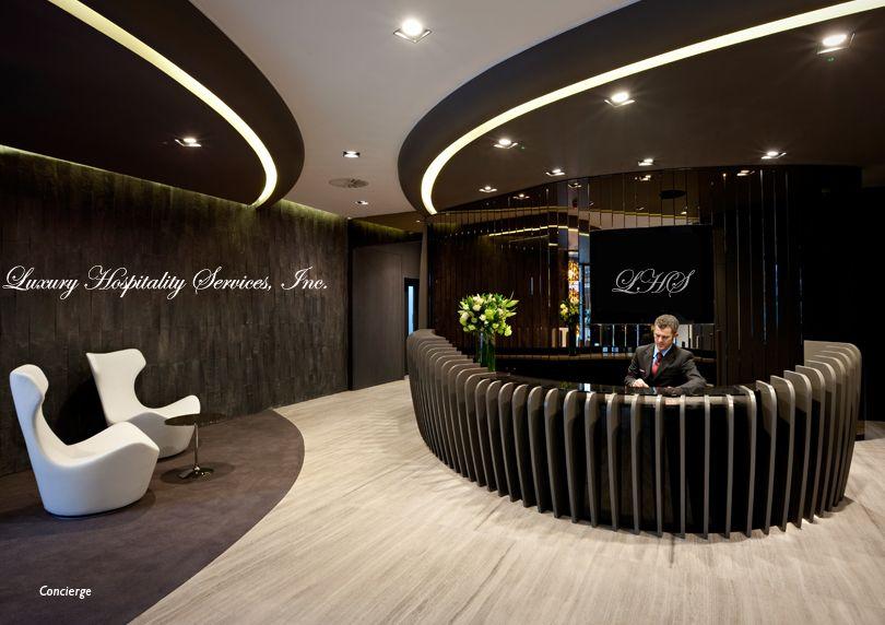reception desks - Concierge Desk Design