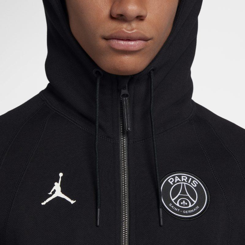 Jordan PSG Wings Men's Full Zip Hoodie 'Black' Bouncewear