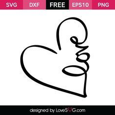 Love in a Heart | Lovesvg.com