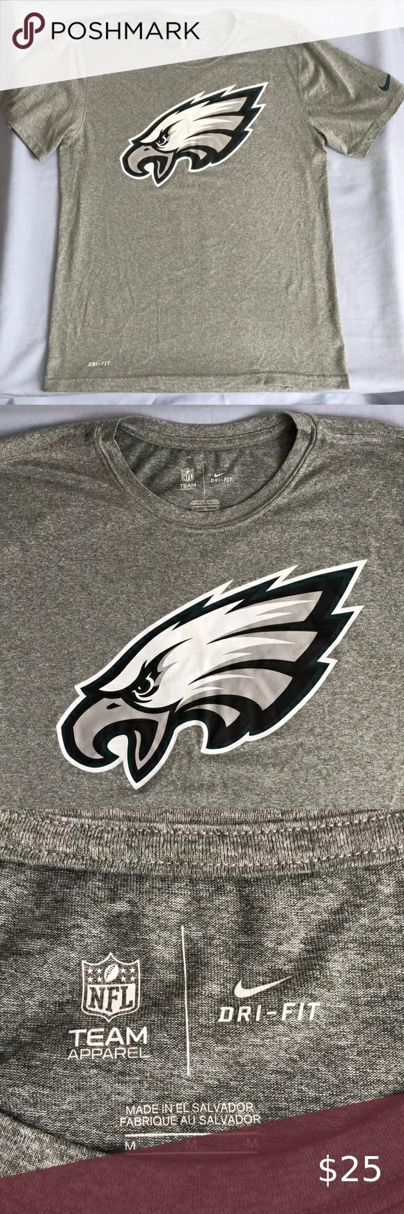 Nike Dri Fit Philadelphia Eagles Nfl Team Shirt Team Shirts Dri Fit Nike Dri Fit [ 1740 x 580 Pixel ]