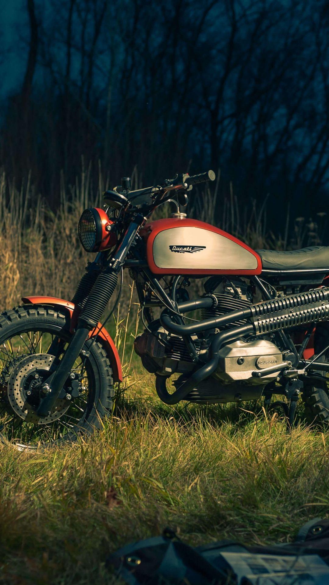Ducati Scrambler Campfire Motorcycle Outdoor 1080x1920
