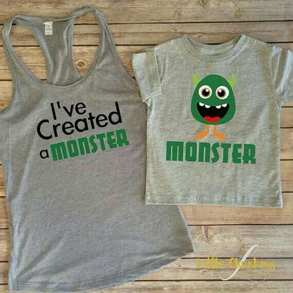 Created A Monster Baby Boy Birthday Outfit 2nd Party For Boys