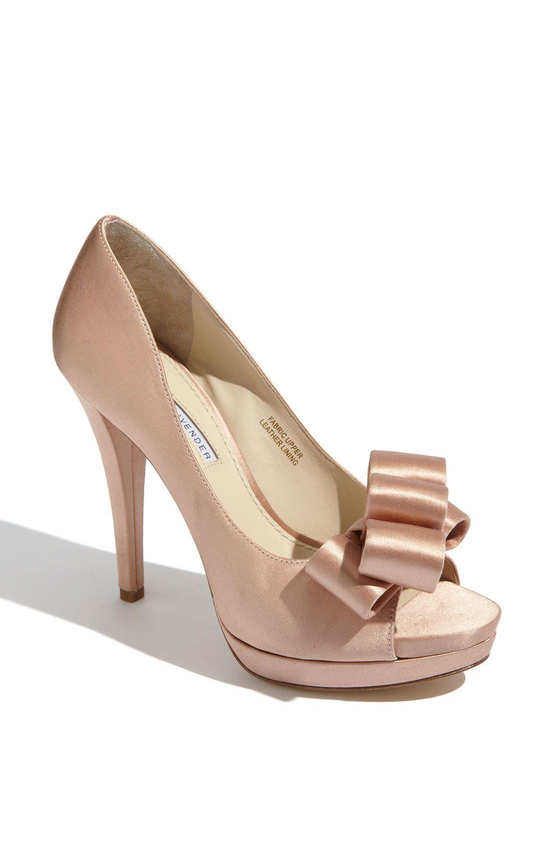 Bridal Shoes Vera Lavender Sammy P Toe Pump Wedding Fashion