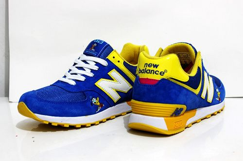 Men And Women New Balance 576 Shoes Disney Donald Duck Blue Yellow,New  Balance Balance,New 2016 Lastest New Balance Shoes Online Store
