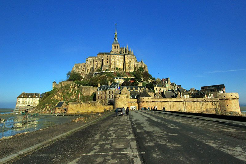 Photo Mont Saint Michel Abbey Normandy France Best Vacation Destinations Vacation France Best Vacations