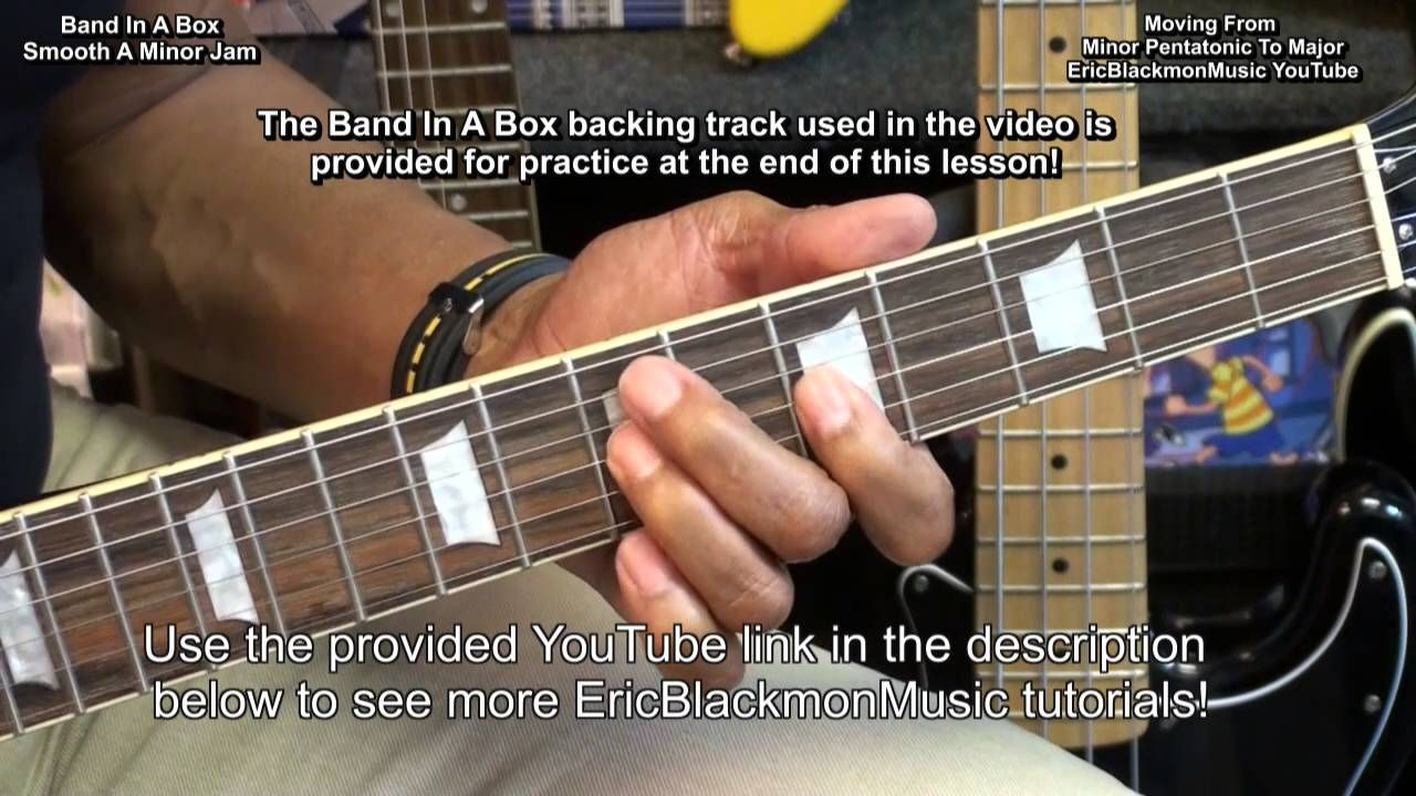 From Minor Pentatonic To Major Scale Solo By Adding A Few