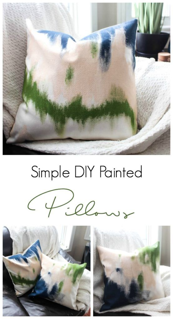 DIY Abstract Spring Pillows | Share Your Craft | Pinterest | Pillows ...