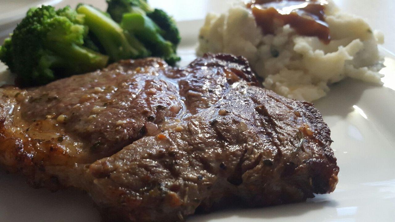 Air Fryer RibEye Steak Cooks Essentials 5 3qt Airfryer Digital