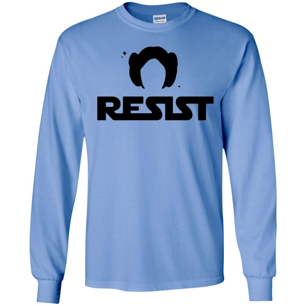Resist -Rebel Nasty Woman Anti-Trump LS Tshirt - Teeever.com
