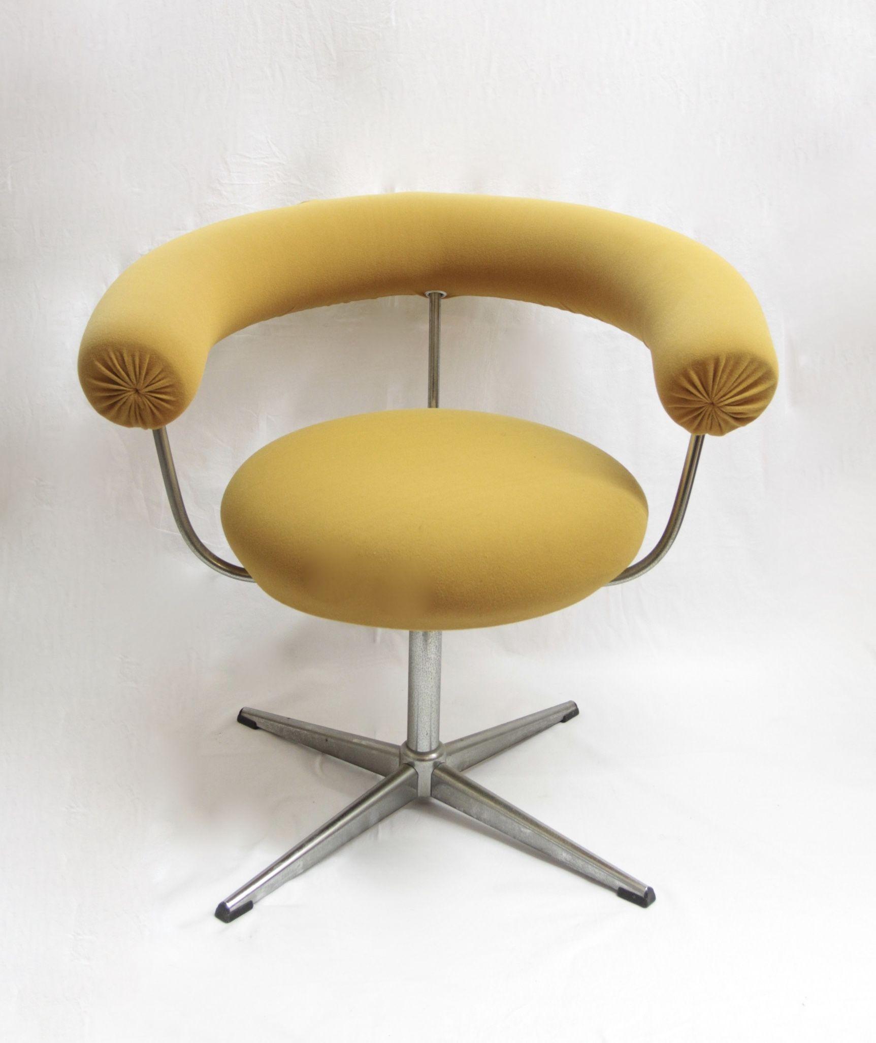 Sessel 70er Jahre Gelb Gelb Retro Design Painted Furniture Und