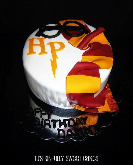 Harry Potter Birthday Cake Cake by Tyla Mann Frosting Stuff and