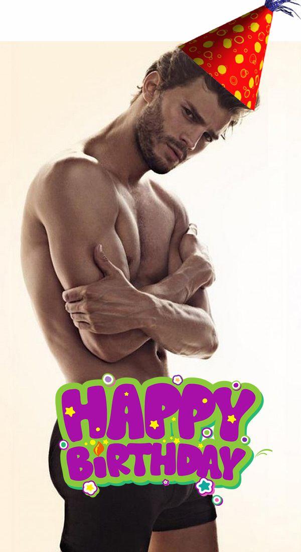 Happy Birthday Jamie Christian Grey Jamie Dornan Shades Of