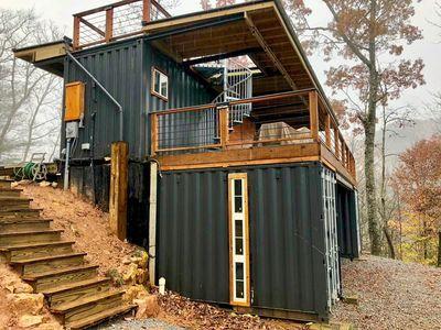 Appalachian Container Cabin - Otto