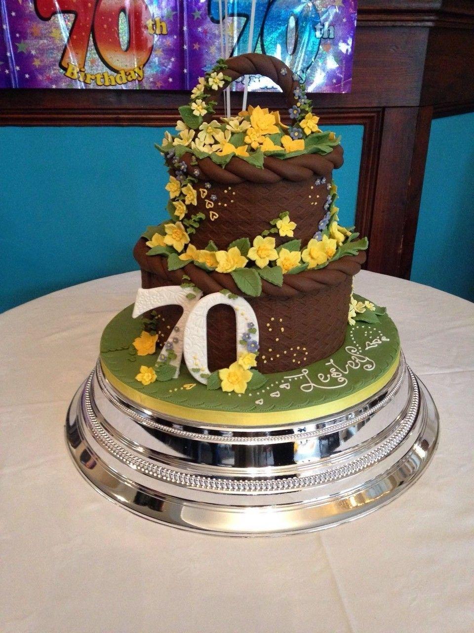 A 70th birthday cake yum httpwutoziuhml