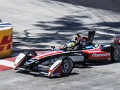 Halfway through the all-new Formula E season, an international race of electric cars, and the stakes feel just as high as in a Formula 1 race, but these cars represent the future.