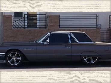 1964 Ford Thunderbird Matte Black Gray With Images Ford