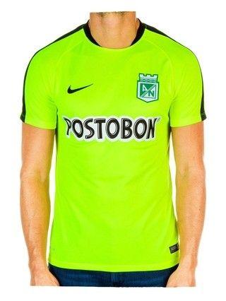 ab6ea3dd88a20 Camiseta Nike M C Entrenamiento Verde Atlético Nacional 2016 ...