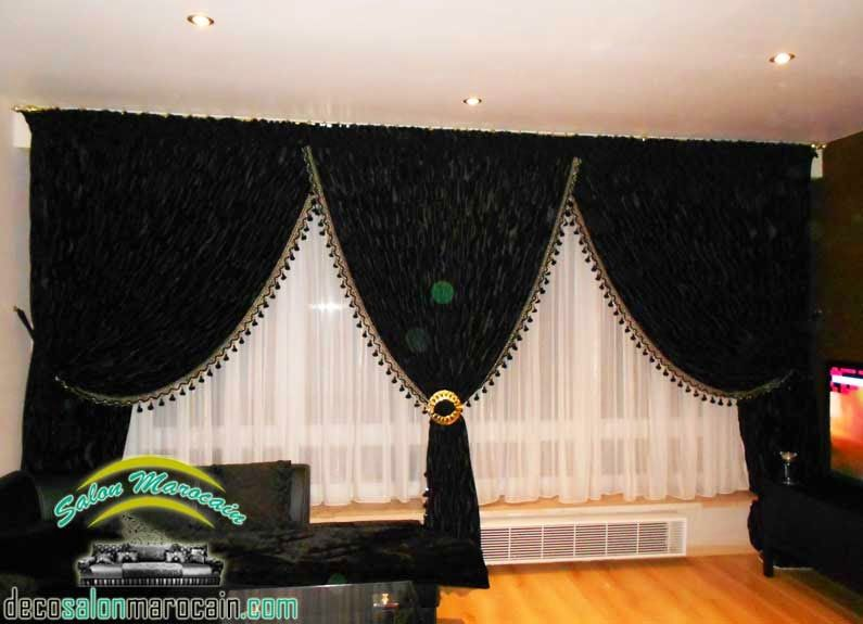Double Rideaux Occultants | Salon Marocain
