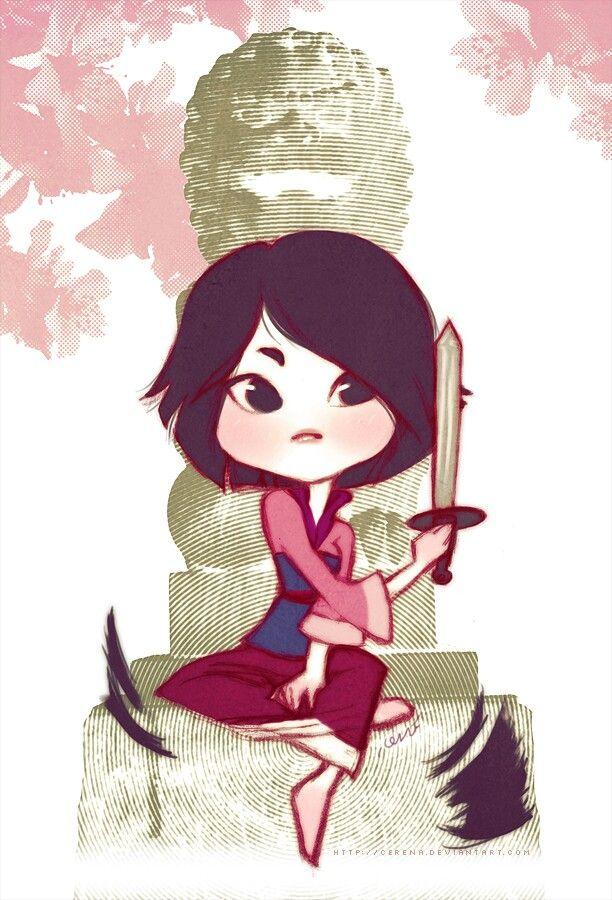 Chibi Mulan