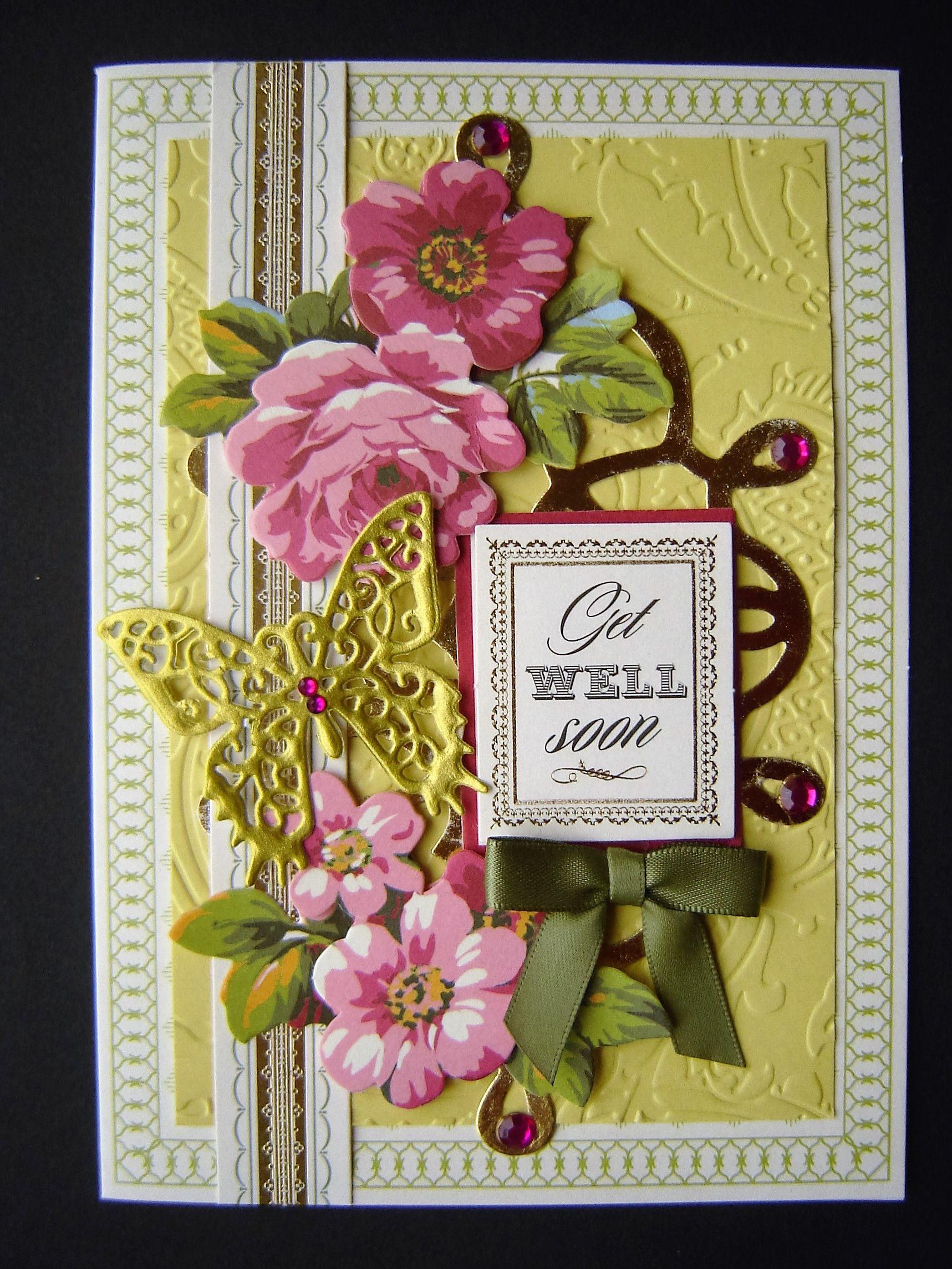 pinlinda on my anna griffin cards  cards handmade