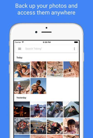 Make Space On Iphone Iphone Google Photos Photo Album