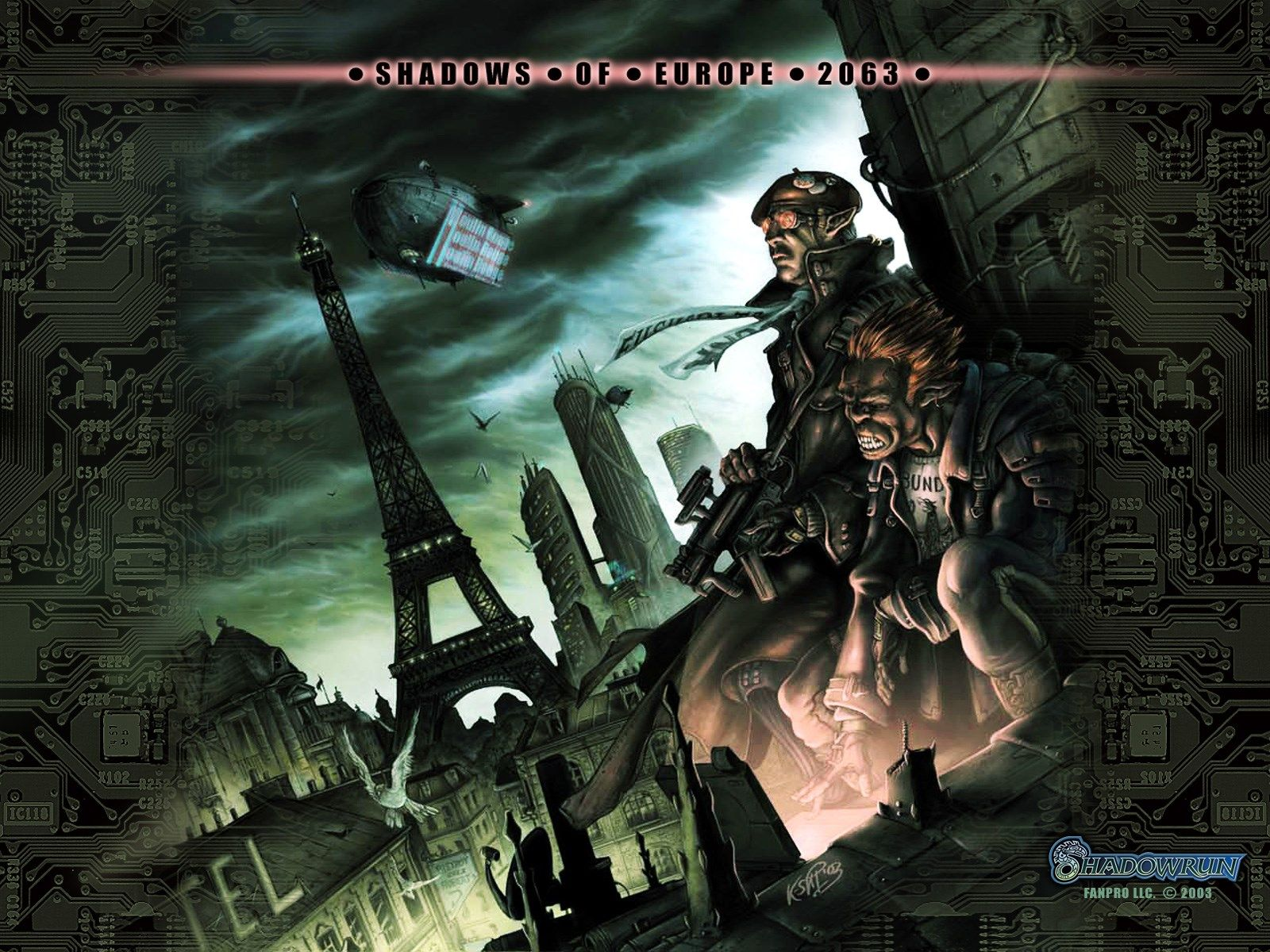 Windows Wallpaper Shadowrun Shadowrun Scifi Fantasy Art Cyberpunk Character