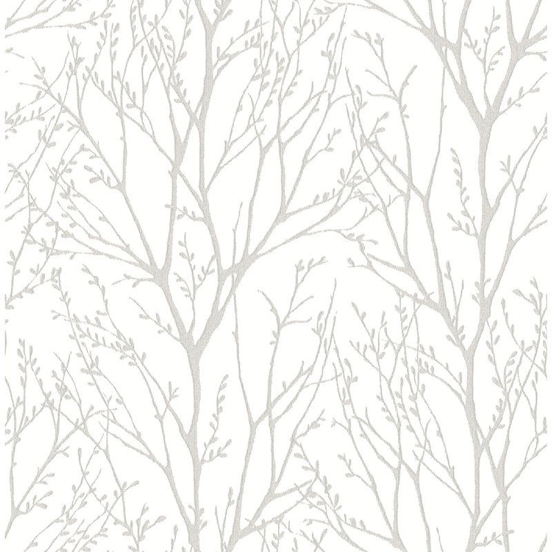 "Treetops Peel and Stick 18' x 20.5"" Wallpaper Roll"