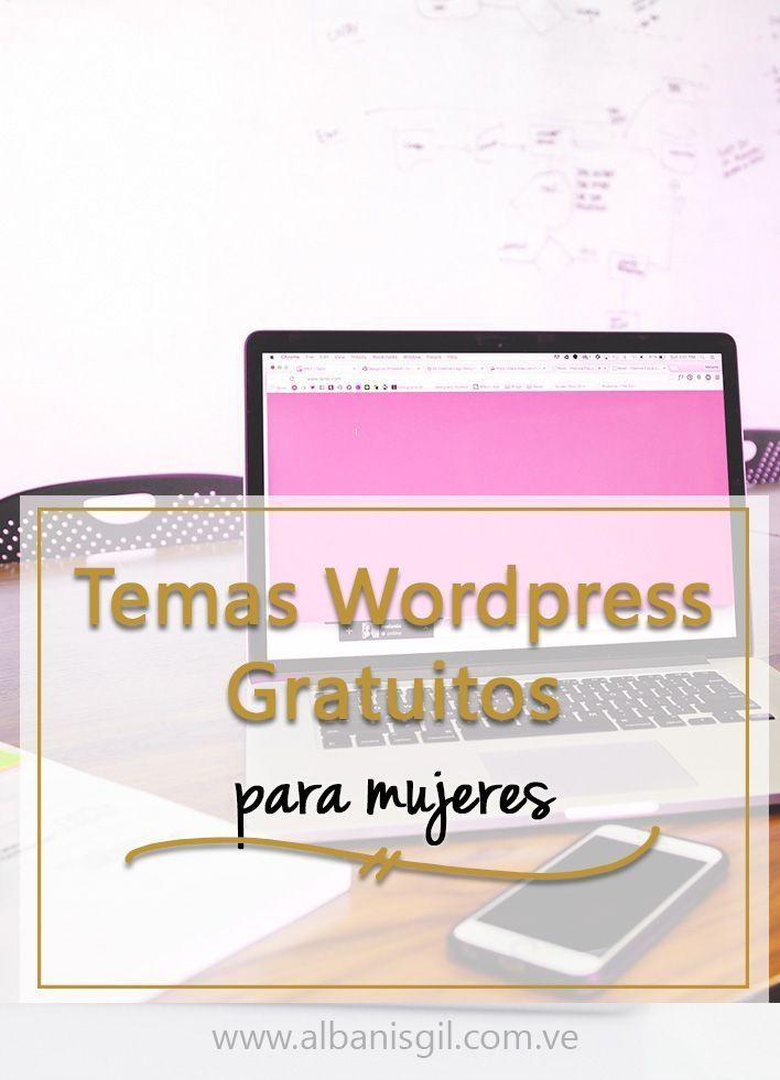 Top 5 Temas Wordpress Gratuitos Para Mujeres | Para mujeres ...