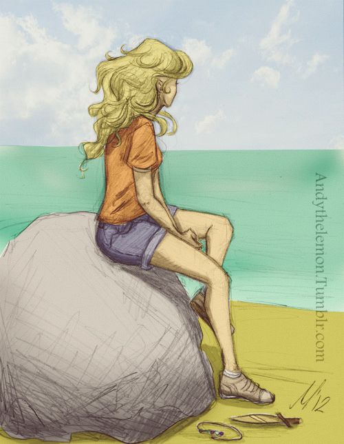 Percy Jackson, Annabeth Chase>>>this is what I imagine Annabeth did while Percy was gone...
